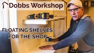 Floating Shelves - Different Approach For The Shop