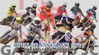 WOW Grasstrack Open Karang Para GASAK 46 SC Sukabumi di Banjiri Pembalap Nasional