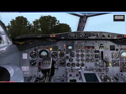 FSX   CapSim   Captain Sim   Boeing 737 - 200   Cold and Dark   Manual  VOR flight  UHPP - PANC