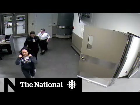 Video released of Huawei executive Meng Wanzhou being detained in Vancouver