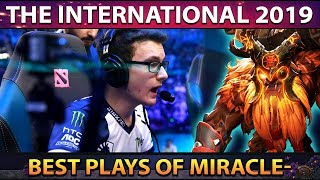 Liquid.Miracle- BEST PLAYS, BEST MOMENTS - TI9 THE INTERNATIONAL 2019 Group Stage Dota 2