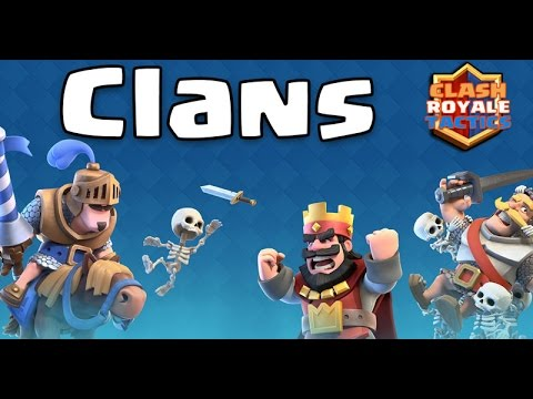 Benefits of Clans in Clash Royale - Get More Cards, Gold and Clan Chests