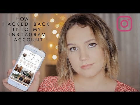 How I HACKED Back Into My Account WITHOUT The Help Of Instagram (2019)