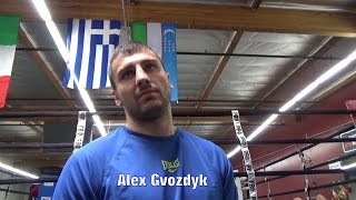 "ALEX GVOZDYK REVEALS WHAT REALLY HAPPENED IN MCGREGOR & KOVALEV ""ALTERCATION"""