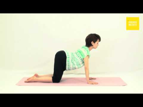 18脊柱起立筋群・腹筋群のストレッチ