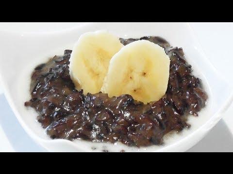 Sticky Black Rice Pudding Recipe - Mark's Cuisine #69