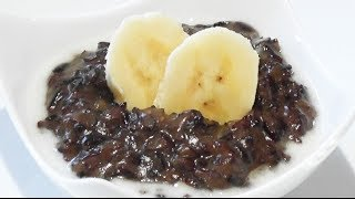 Sticky Black Rice Pudding Recipe - Mark's Cuisine #69