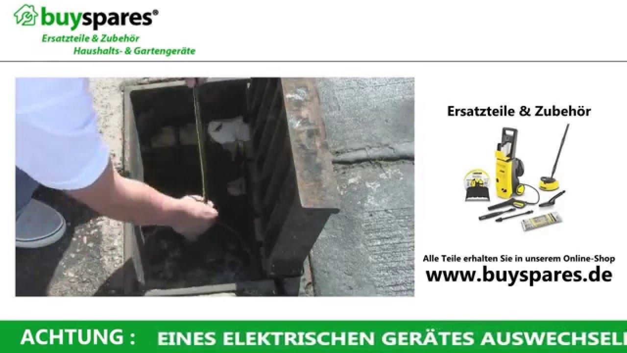 Häufig Anleitung: Abflussrohre reinigen mit dem Kärcher Hochdruckreiniger UU72