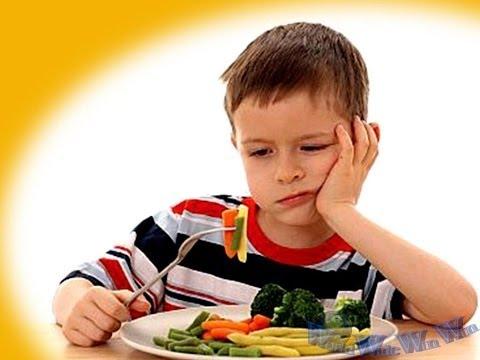Cách trị bệnh biếng ăn ở trẻ em