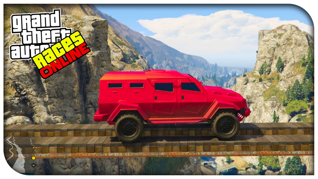 Gta 5 epic races crazy off road tight rope race gta v online funny moments