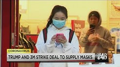 President Trump and 3M strike deal to make masks