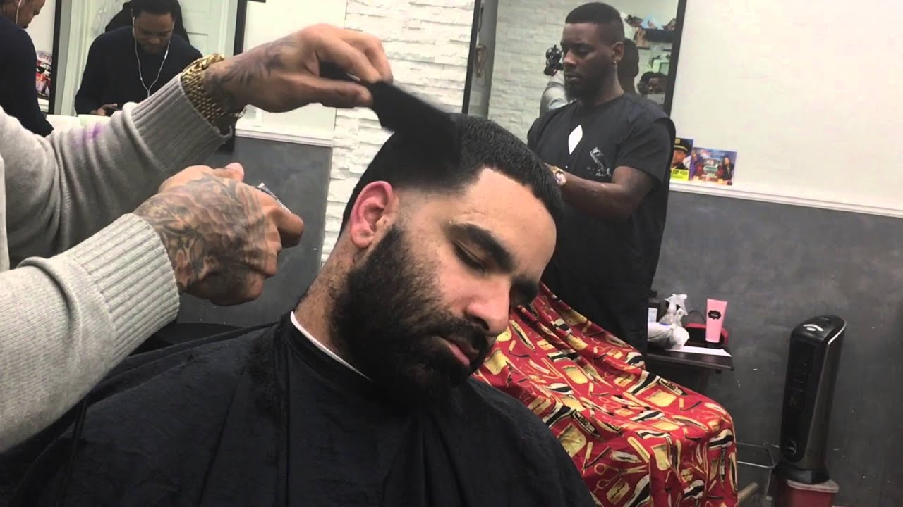 Light Skin Taper Haircut Images