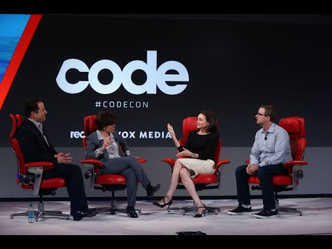 Facebook execs Sheryl Sandberg and Mike Schroepfer | Full interview | Code 2018