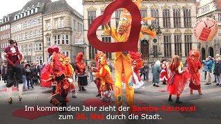 11.11. in Bremen: Samba-Karneval 2020 wirft seine Schatten voraus