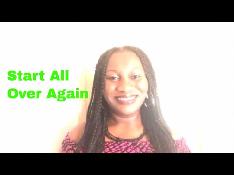 Getting A Fresh Start In Life | Self-Help