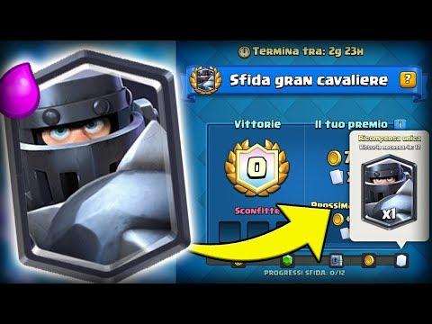 VINCIAMO LA SFIDA DEL GRAN CAVALIERE IN LIVE! Clash Royale ITA!