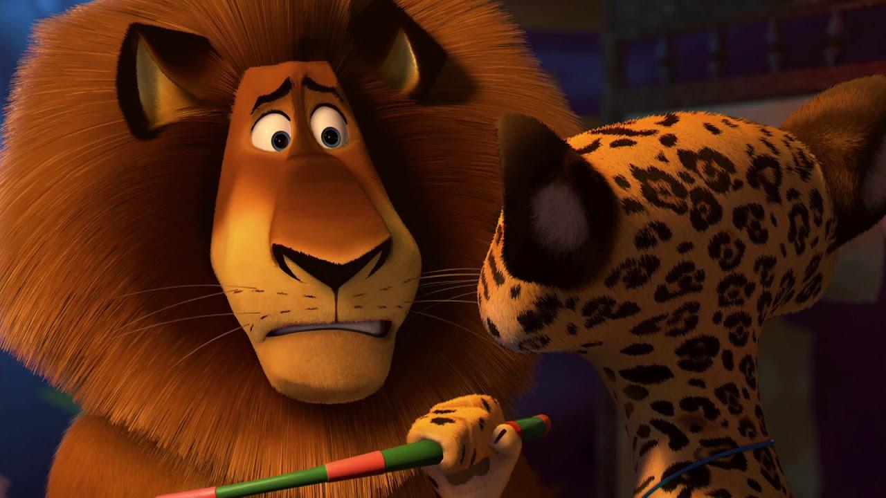 DreamWorks Madagascar em Português |  O melhor de Alex parte 3 | Os Pinguins de Madagascar