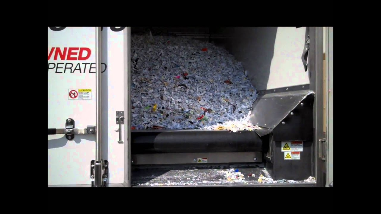 how to get rid of papers without shredding