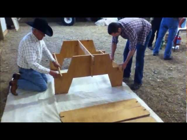 Simple Projects To Make From One Sheet Of Plywood Plywood DIY - Popular mechanics picnic table
