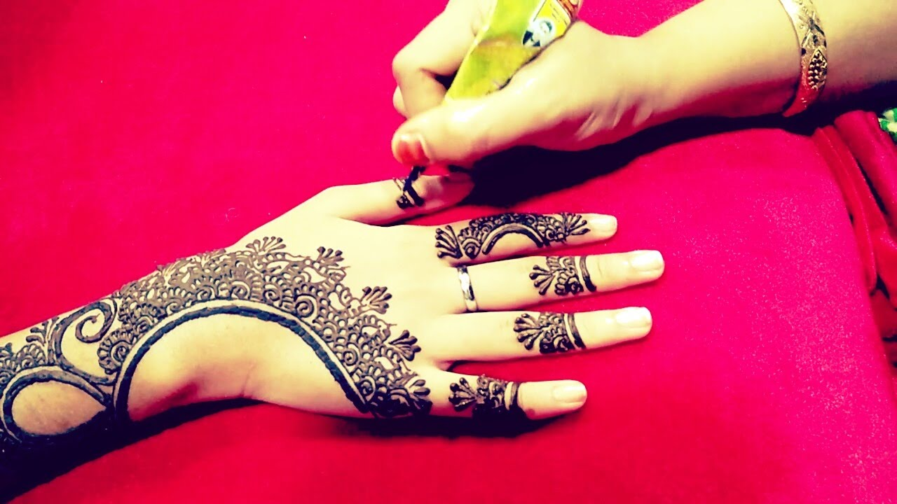 Henna Tattoo Designs For Diwali: Henna Mehndi Designs For Hands For Eid