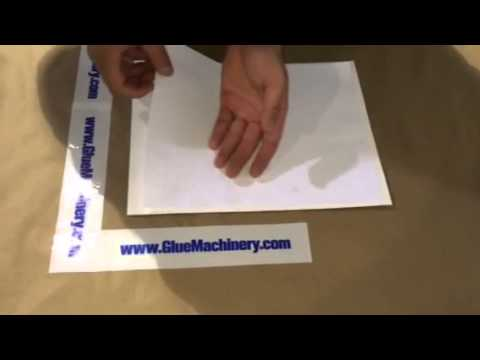 R Gluer Duplexing/Gluing Paper to 18 pt Paperboard