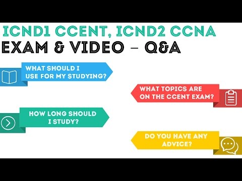 CCENT ICND1/ICND2 CCNA - Exam and Video - Q&A Overview .01 (BONUS)