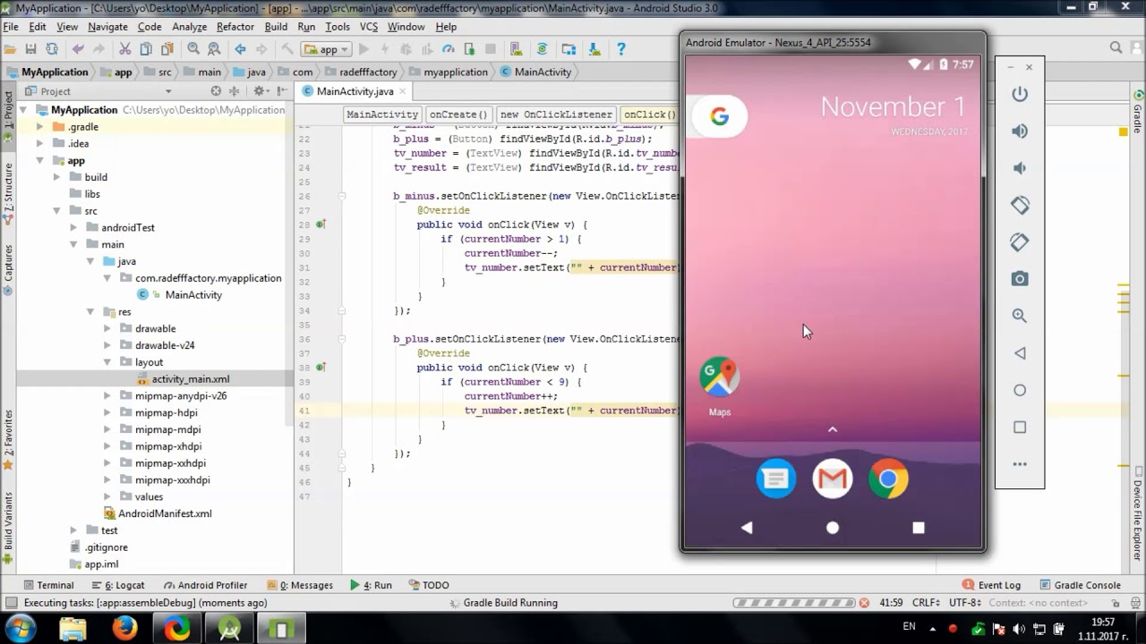 Develop simple multiplication table app in android studio youtube develop simple multiplication table app in android studio gamestrikefo Gallery