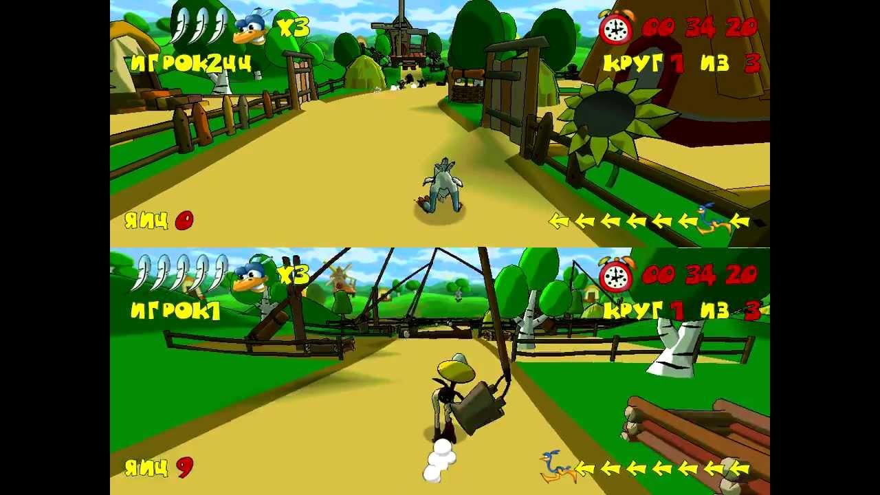 Обзор игры, Страусиные бега