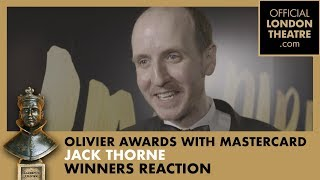 Winner Reaction: Jack Thorne for Harry Potter And The Cursed Child
