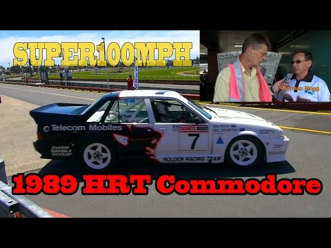 1989 HRT WALKINSHAW First Ever Commodore Sandown: Owner Norman Mogg