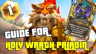 THE SATHROVARR SHIRVALLAH SURPRISE | GUIDE TO HOLY WRATH PALADIN | HEARTHSTONE | SAVIORS OF ULDUM