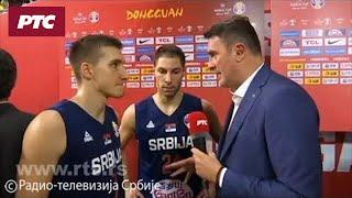 Košarka - SP: Srbija - Argentina 87:97, izjave Jovića i Bogdanovića nakon meča