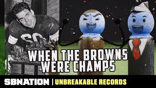 The Browns had the most successful decade in pro football history