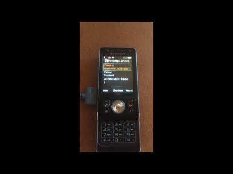 Sony Ericsson W910i Kameratest
