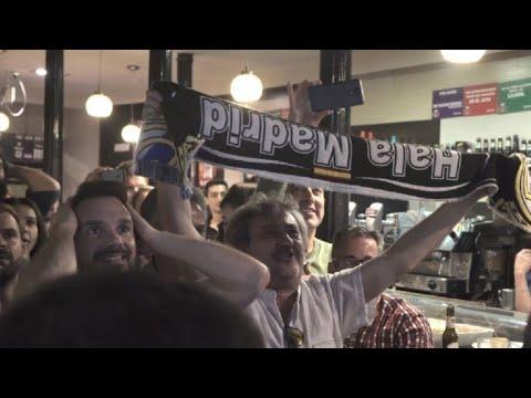 Ligue des Champions: les supporters madrilènes exultent