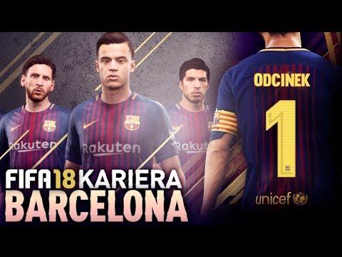 FIFA 18 | KARIERA FC BARCELONA | #01 - Powrócić na szczyt!