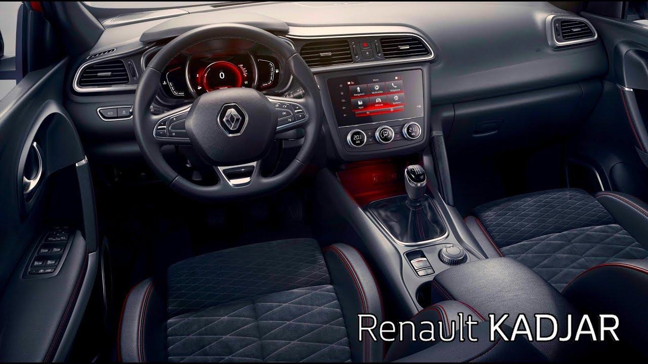 2019 Renault Kadjar Interior Youtube
