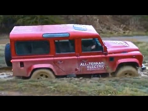 Land Rover Defender Electric Tested Hybrid Suv Commercial