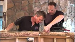 How to Seam Together Granite Slabs for Your Kitchen Countertop