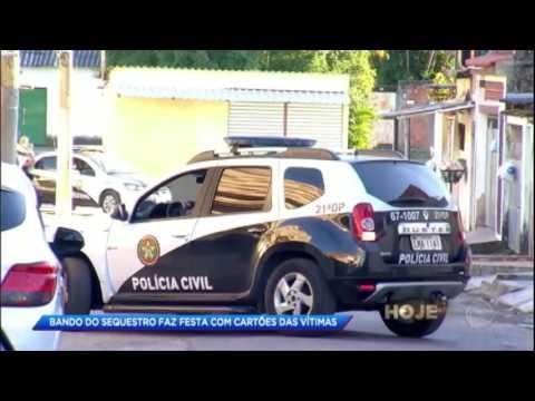 Polícia prende integrante de quadrilha especializada em sequestros relâmpago no RJ