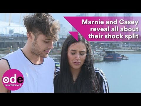 Marnie Simpson and Casey Johnson reveal all about their shock split