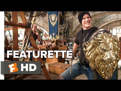 Warcraft Featurette  War Room 2016  Robert Kazinsky, Dominic Cooper Movie HD