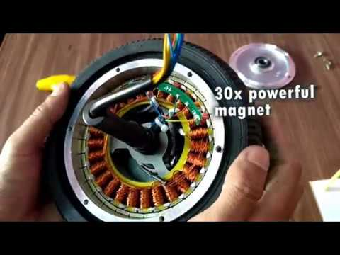 Watch on brushless motor inside