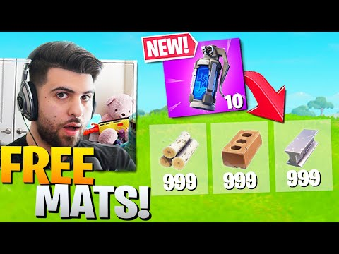 Epic Didn't Realize The *NEW* Decoy Grenades Give You FREE MATS! (Fortnite Battle Royale Season 2)