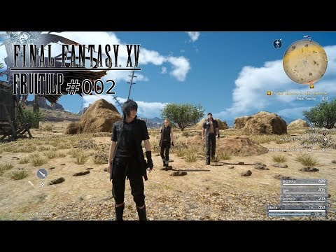 Let's Play Final Fantasy XV folge 2 [HD+] - falsche Quest