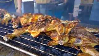 Rosa's Road Trip Thailand: Bua Tong Thai Grilled Chicken, Khao Koh, Thailand
