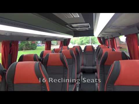 16 Seat VIP Luxury Mini Bus