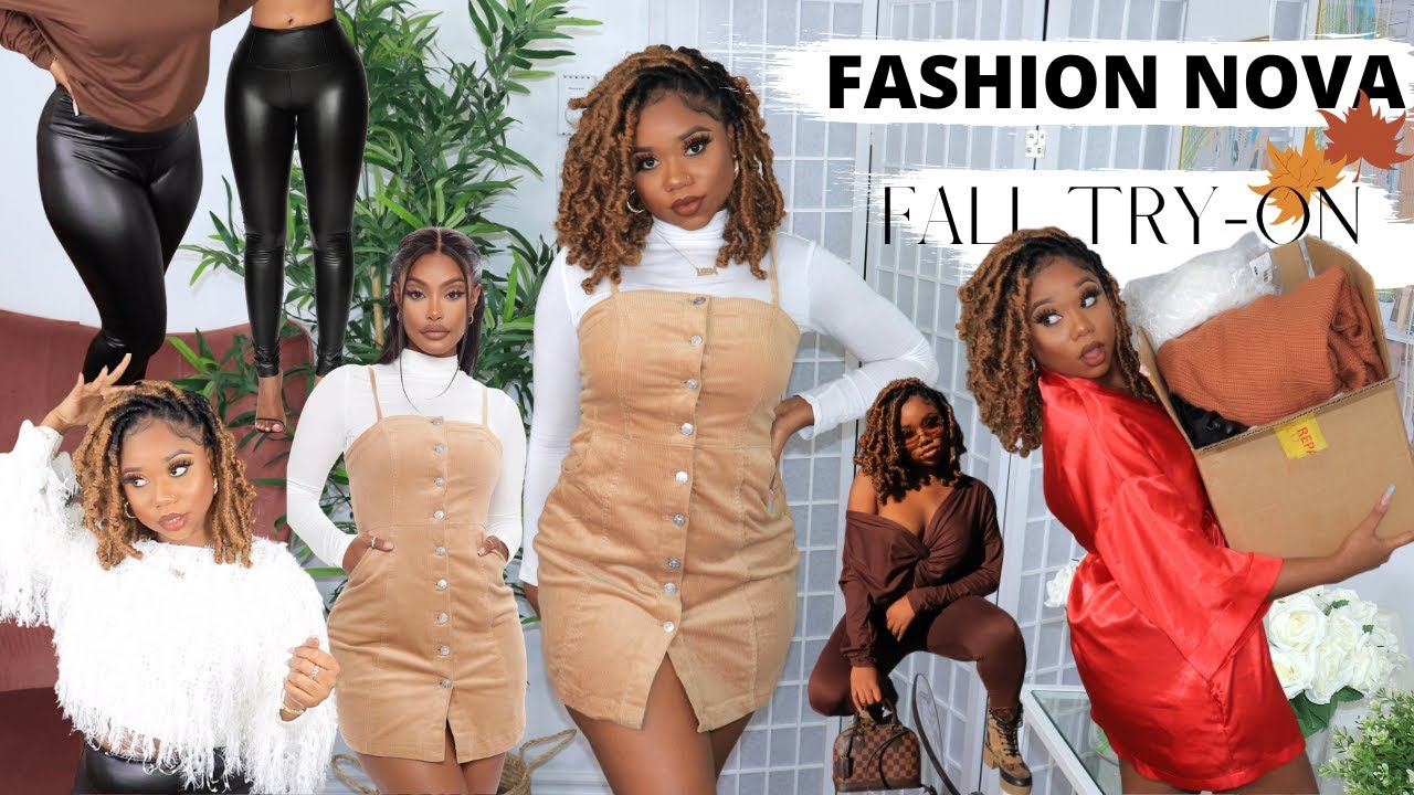 FASHION NOVA FALL TRY ON HAUL 2020 | FALL MUST HAVES | Chev B.