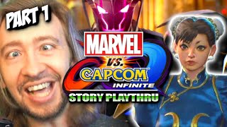 Oh God...WHY?! THE REVISIT: Marvel vs Capcom Infinite Story Revisited (Part 1)