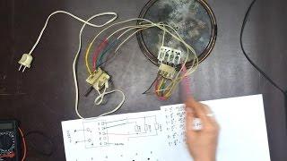 Схема подключения конфорки с 4 контактами(, 2016-04-15T13:23:35.000Z)